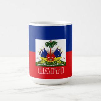 ハイチの旗のマグ コーヒーマグカップ