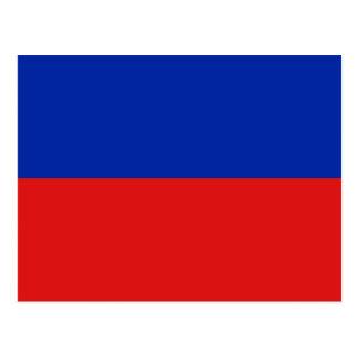 ハイチの旗の郵便はがき はがき