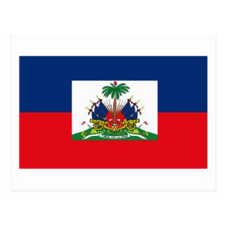 ハイチの旗の郵便はがき ポストカード