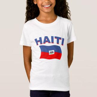 ハイチの旗2 Tシャツ