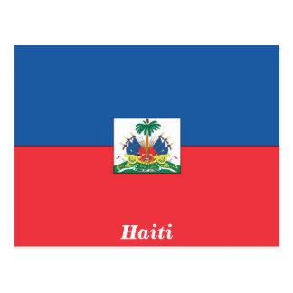 ハイチの旗 はがき