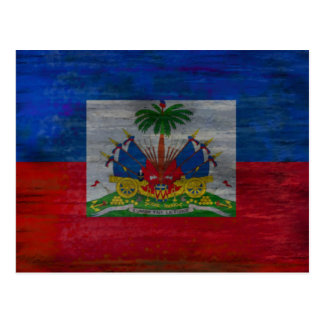 ハイチの旗-ハイチの旗 ポストカード