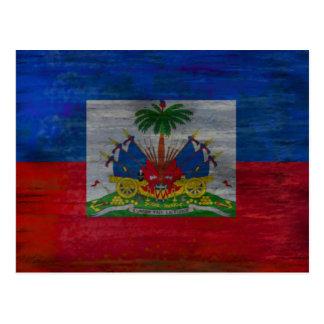 ハイチの旗-ハイチの旗 葉書き