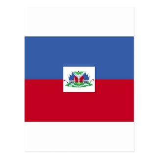 ハイチの旗 ポストカード