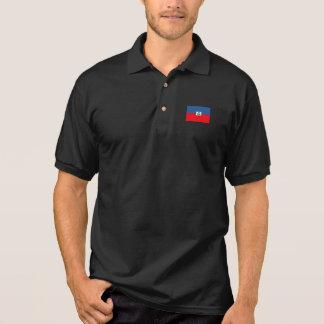 ハイチの旗 ポロシャツ