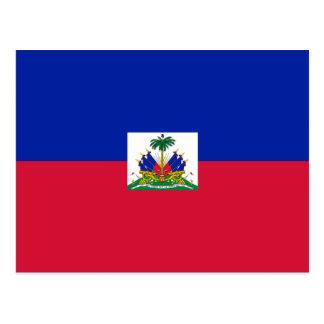 ハイチの旗HT はがき