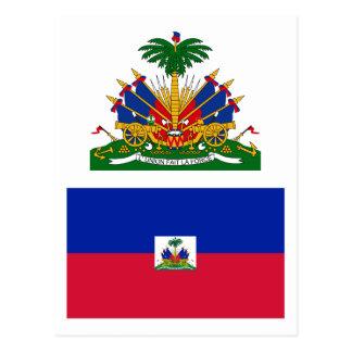 ハイチの旗HT ポストカード