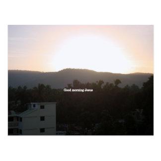 ハイチの朝 ポストカード