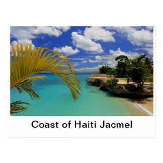 ハイチの海岸 ポストカード