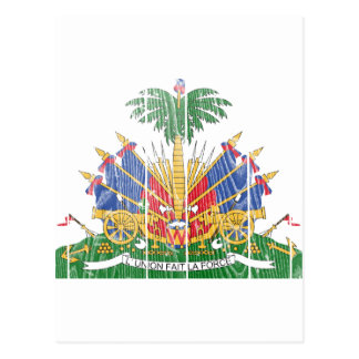 ハイチの紋章付き外衣 ポストカード