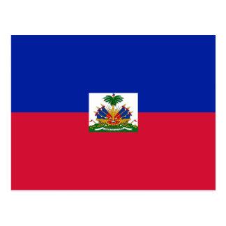 ハイチの郵便はがきの旗 ポストカード
