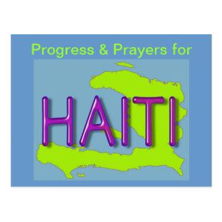 ハイチの郵便はがき ポストカード