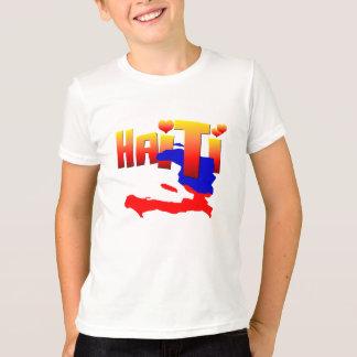 ハイチ愛ワイシャツ Tシャツ