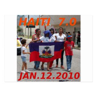 ハイチ7.0 葉書き