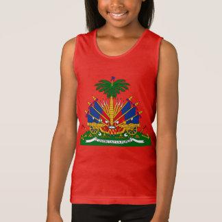 ハイチ-タンクトップ紋章付き外衣 タンクトップ