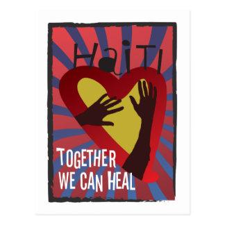 ハイチ-一緒に私達は直してもいいです ポストカード