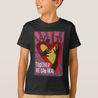 ハイチ-一緒に私達は直してもいいです Tシャツ