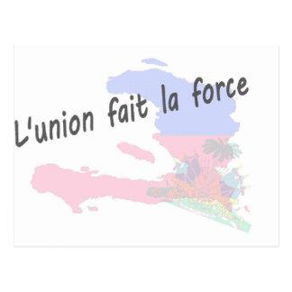ハイチ- L'unionのfaitのla力 ポストカード