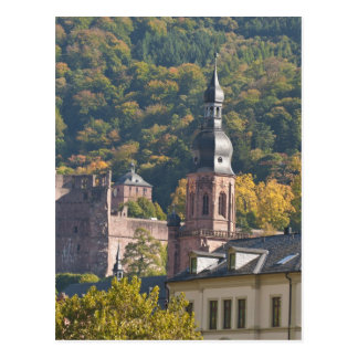 ハイデルベルクの古い町2の眺め ポストカード