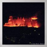ハイデルベルクの城の焼却 ポスター