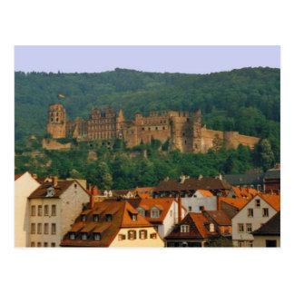 ハイデルベルクの城の郵便はがき ポストカード