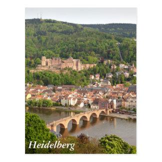 ハイデルベルクの眺め ポストカード