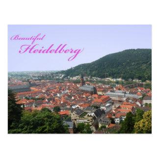 ハイデルベルクの郵便はがき ポストカード