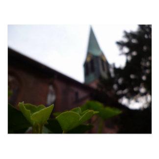 ハイデルベルク、ドイツのpeterskirche教会 ポストカード