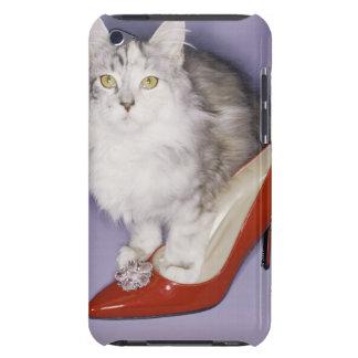 ハイヒールに歩んでいる猫 Case-Mate iPod TOUCH ケース