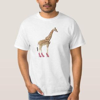 ハイヒールのキリン Tシャツ