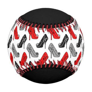 ハイヒールの習慣色 野球ボール