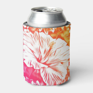 ハイビスカスのクーラーボックス 缶クーラー