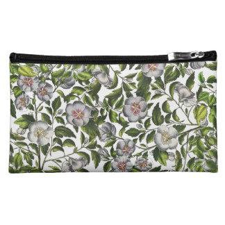 ハイビスカスの花の植物の熱帯花のバッグ コスメティックバッグ