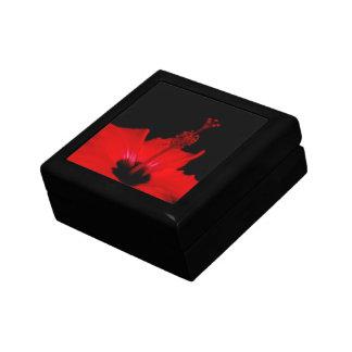 ハイビスカスの花の正方形のタイルのギフト用の箱 ギフトボックス