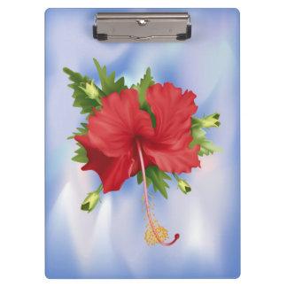 ハイビスカスの花 クリップボード