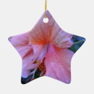 ハイビスカスの花 セラミックオーナメント