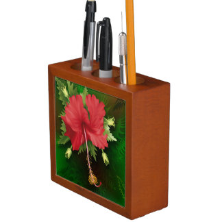 ハイビスカスの花 ペンスタンド