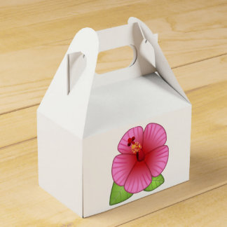 ハイビスカスの花- Emoji フェイバーボックス