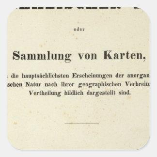 ハインリッヒBerghausとびらの先生 スクエアシール