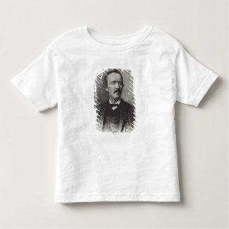 ハインリッヒSchliemannのポートレート トドラーTシャツ