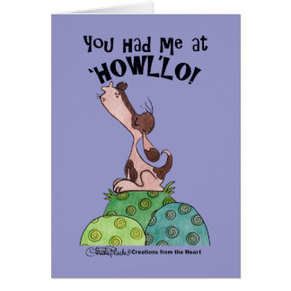 ハウラー犬 カード