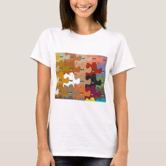 ハウンドドッグの平面充填のTシャツ Tシャツ