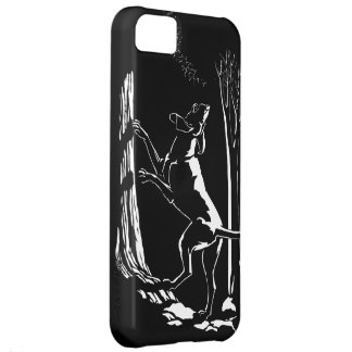 ハウンドドッグのiPhone 5の場合の猟犬の芸術の場合 iPhone5Cケース
