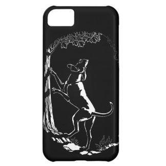 ハウンドドッグのiPhone 5の場合の猟犬の芸術の場合 iPhone 5C ケース