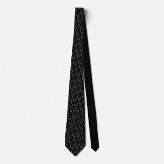 ハウンドドッグはスタイリッシュな猟犬のネクタイを結びます ネクタイ