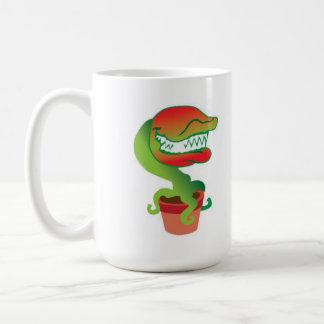 ハエトリグサの漫画のマグ コーヒーマグカップ