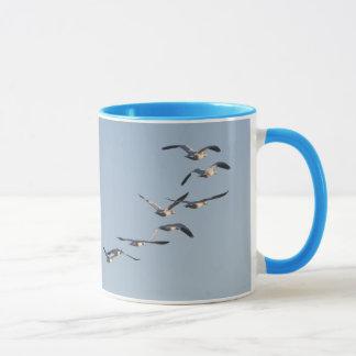 ハクガンの鳥のマグ マグカップ