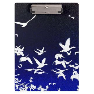 ハクガンの鳥の野性生物動物飛行 クリップボード