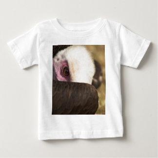 ハゲタカの乳児のTシャツの閉めて下さい ベビーTシャツ