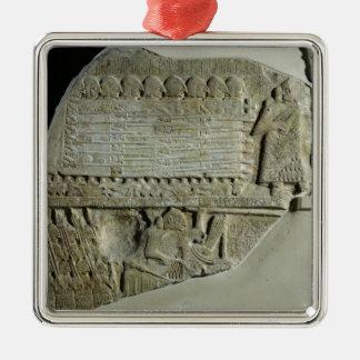 ハゲタカの石碑 メタルオーナメント